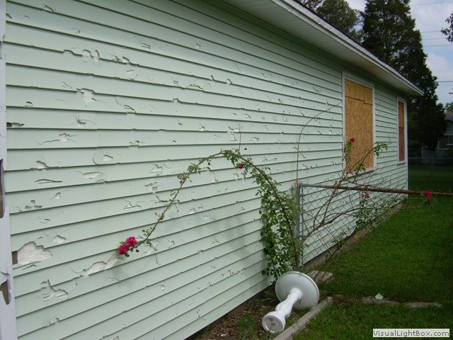 Hail damage generated by for Hail damage vinyl siding